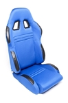 TA-Technix sport seat - blue, adjustable