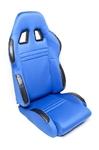 TA-Technix sport seat - blue, adjustable