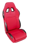 TA-Technix sport seat - red, adjustable