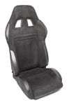 TA-Technix sport seat - black, alcantara, adjustable