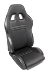TA-Technix sport seat - black, adjustable