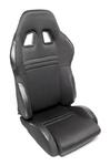 TA-Technix sport seat - black, adjustable