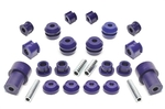 TA-Technix Poly bushkit 24-piece, front and rear axle VW Corrado / Golf II / Jetta II / Seat Toledo I